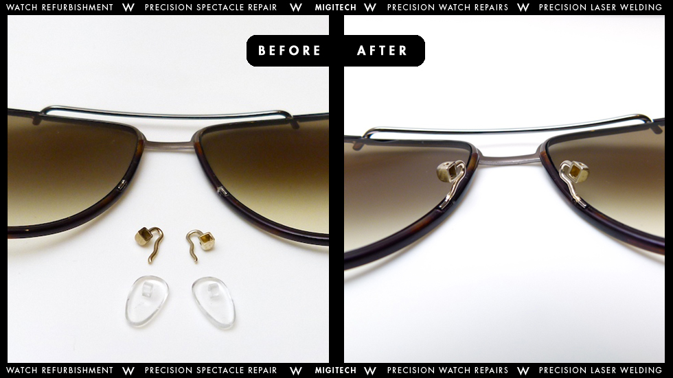 Eyeglass Frame Repair Service : Migitech - Precision Watch & Spectacle Repair Services